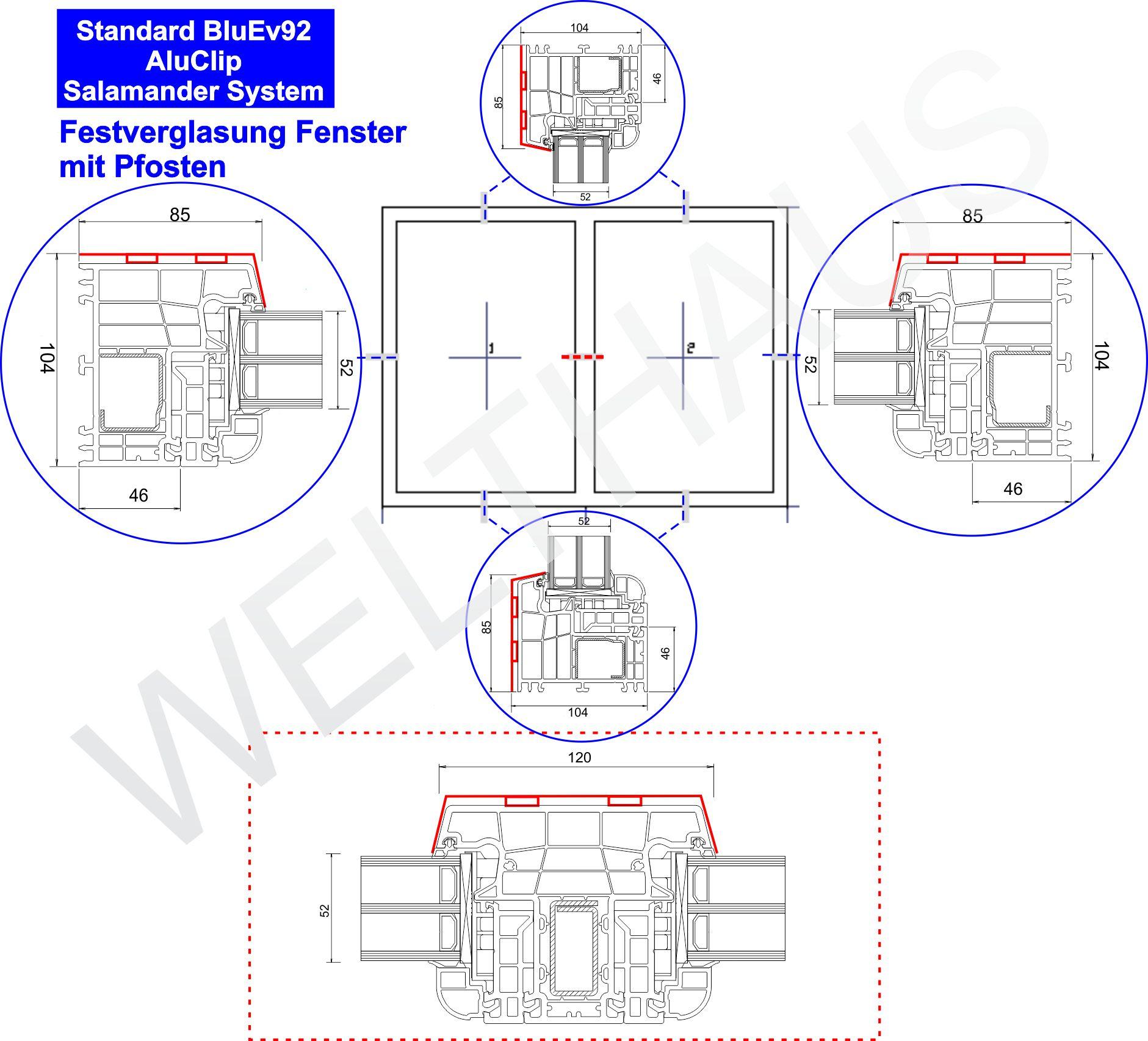 welthaus fenster alus120. Black Bedroom Furniture Sets. Home Design Ideas