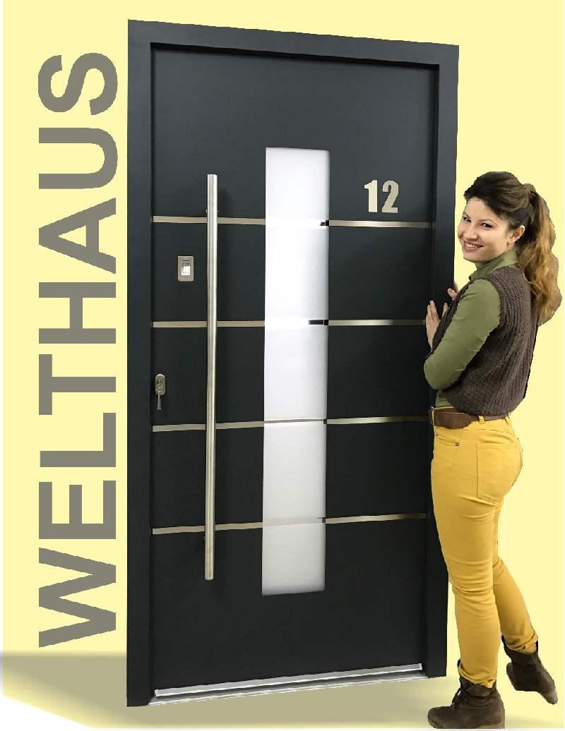 aluminium haust ren kaufen online haust ren konfigurator bei welthaus. Black Bedroom Furniture Sets. Home Design Ideas