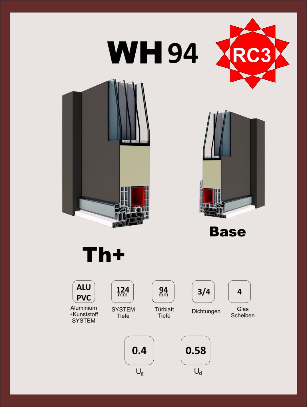 Beliebt Aluminium Haustüren kaufen Online-Haustüren Konfigurator bei Welthaus HP12